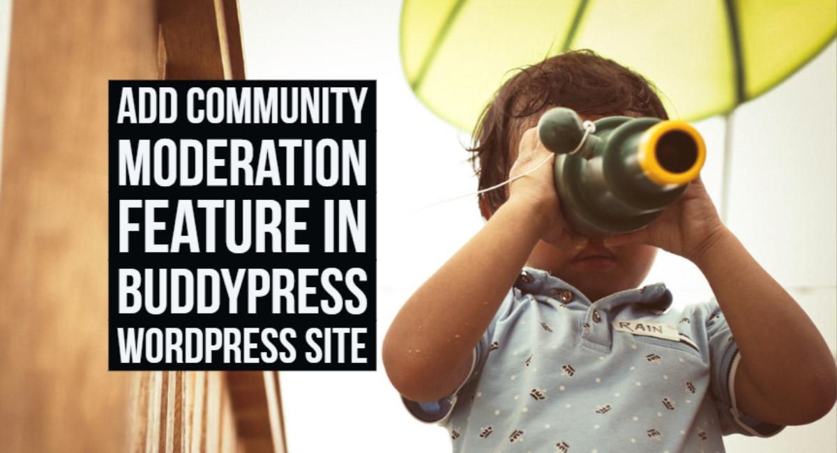 Community Moderation