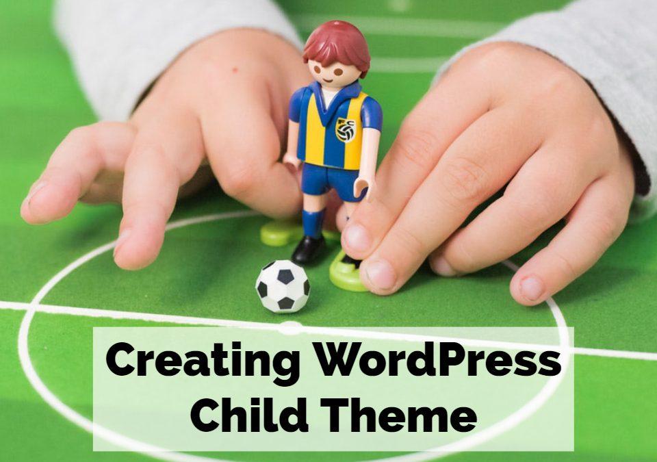 WordPress child them