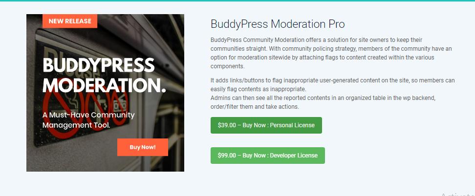Community Moderation Feature