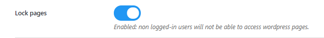 Lock WordPress Pages For Logout Users,Private Community