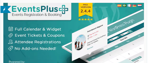 BuddyPress Event booking
