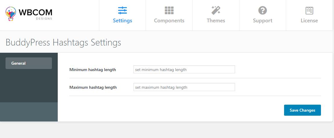 BuddyPress WordPress Hashtags