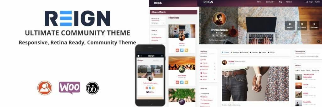 BuddyPress Theme Demo
