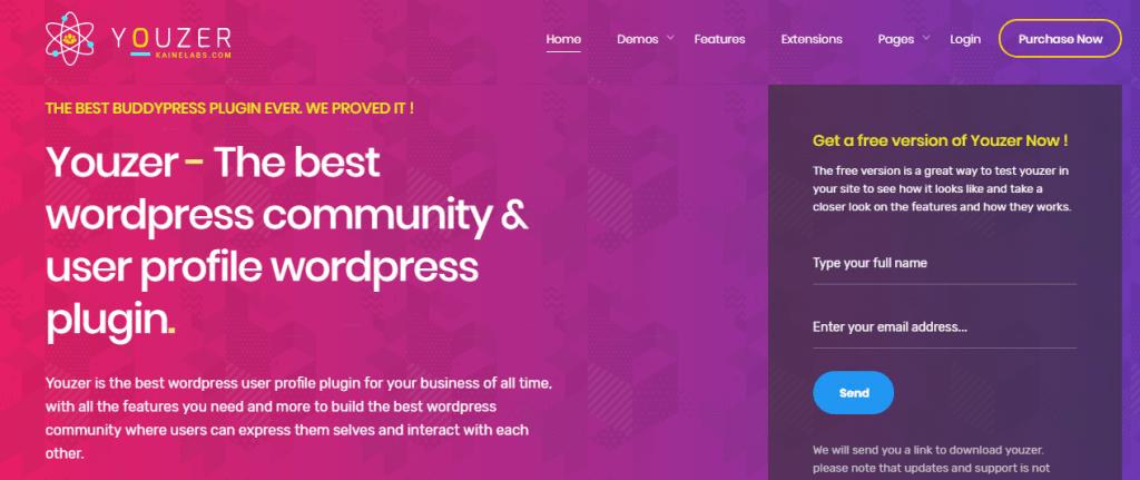 WordPress Social User Profile Plugin