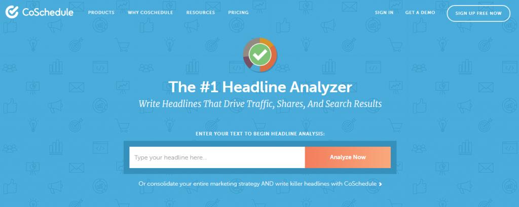 Headline Analyzer Tools