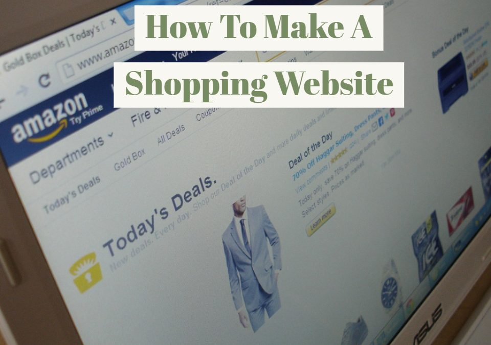 How To Make A Shopping Website