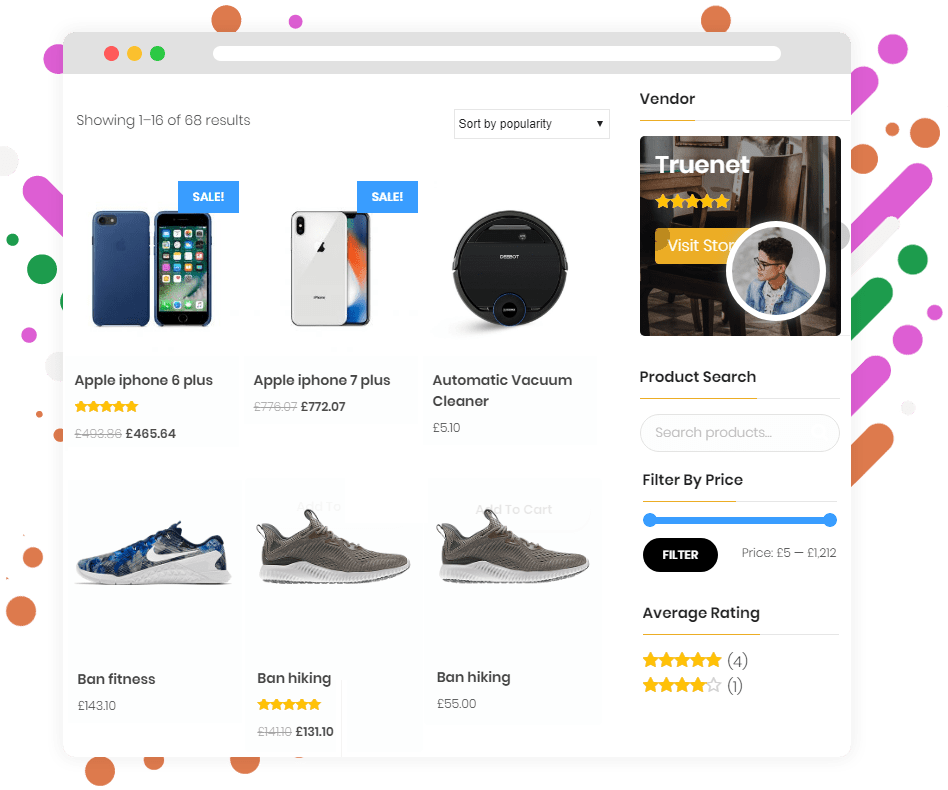 Build your online marketplace website