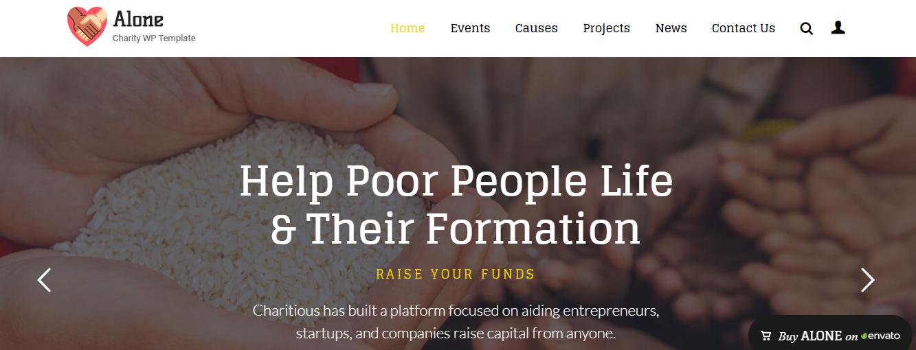 WordPress Themes For Non-Profit Organizations