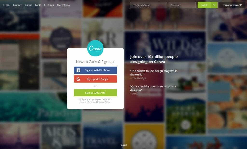 create images and graphics with canva