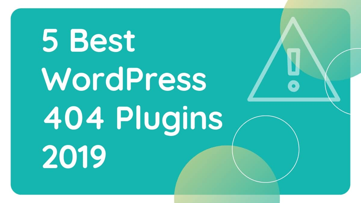 WordPress 404 Plugins