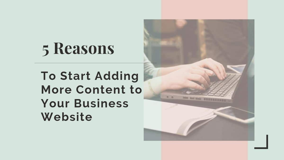 content for business website