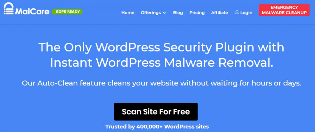 MalCare Security and Firewall WordPress Plugin