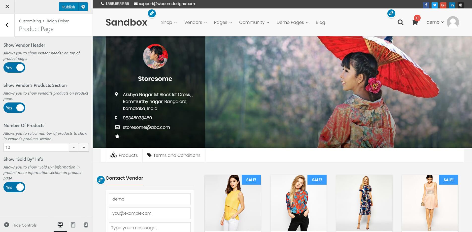 store product pagej - Wbcom Designs