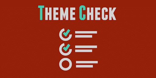 wordpress theme check