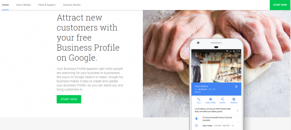 Google My Business, online reputation management tools