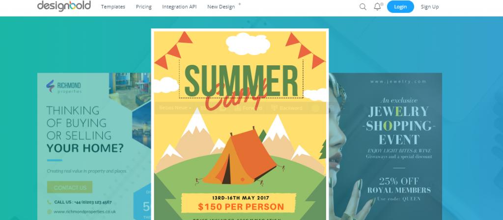 designbold, Web and Graphic Designing Tools