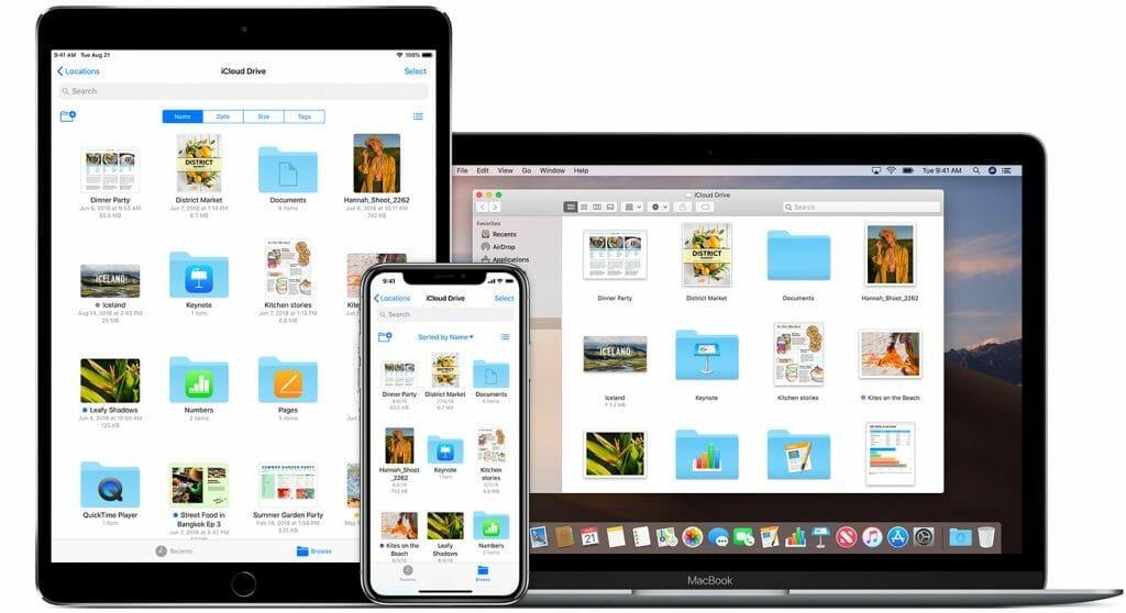 Apple iCloud Drive Best Cloud Storage Services
