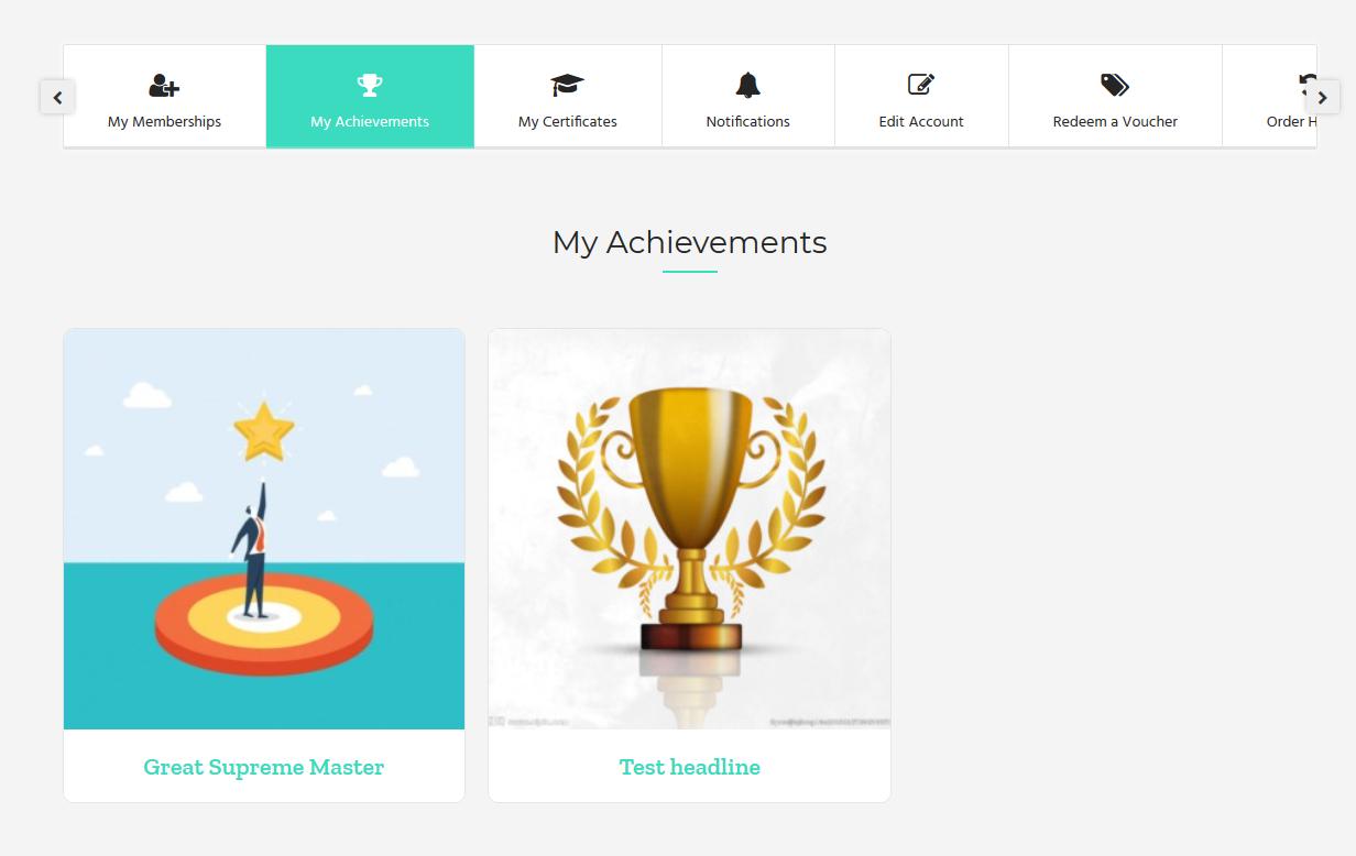 achievement - Wbcom Designs