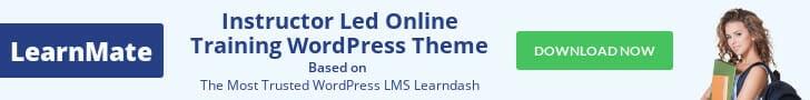 online training wordpress theme
