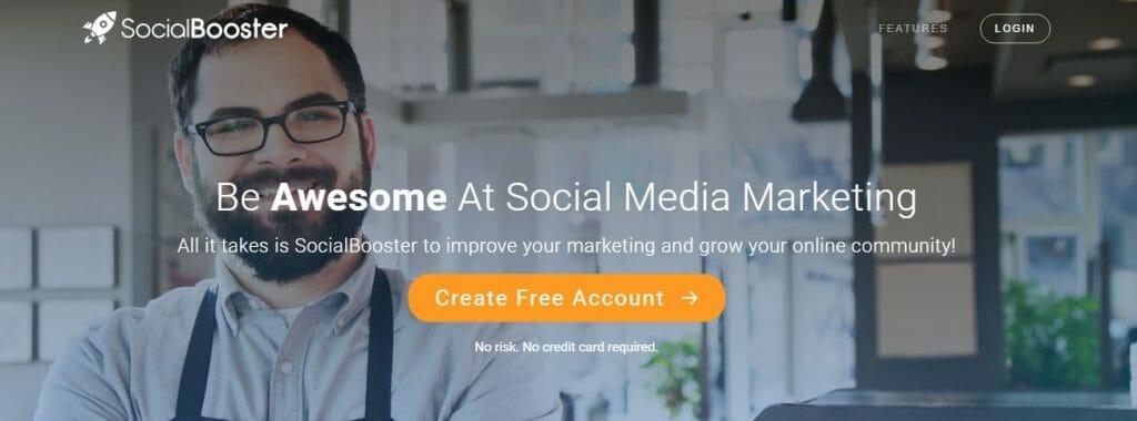 social booster social media monitoring tools