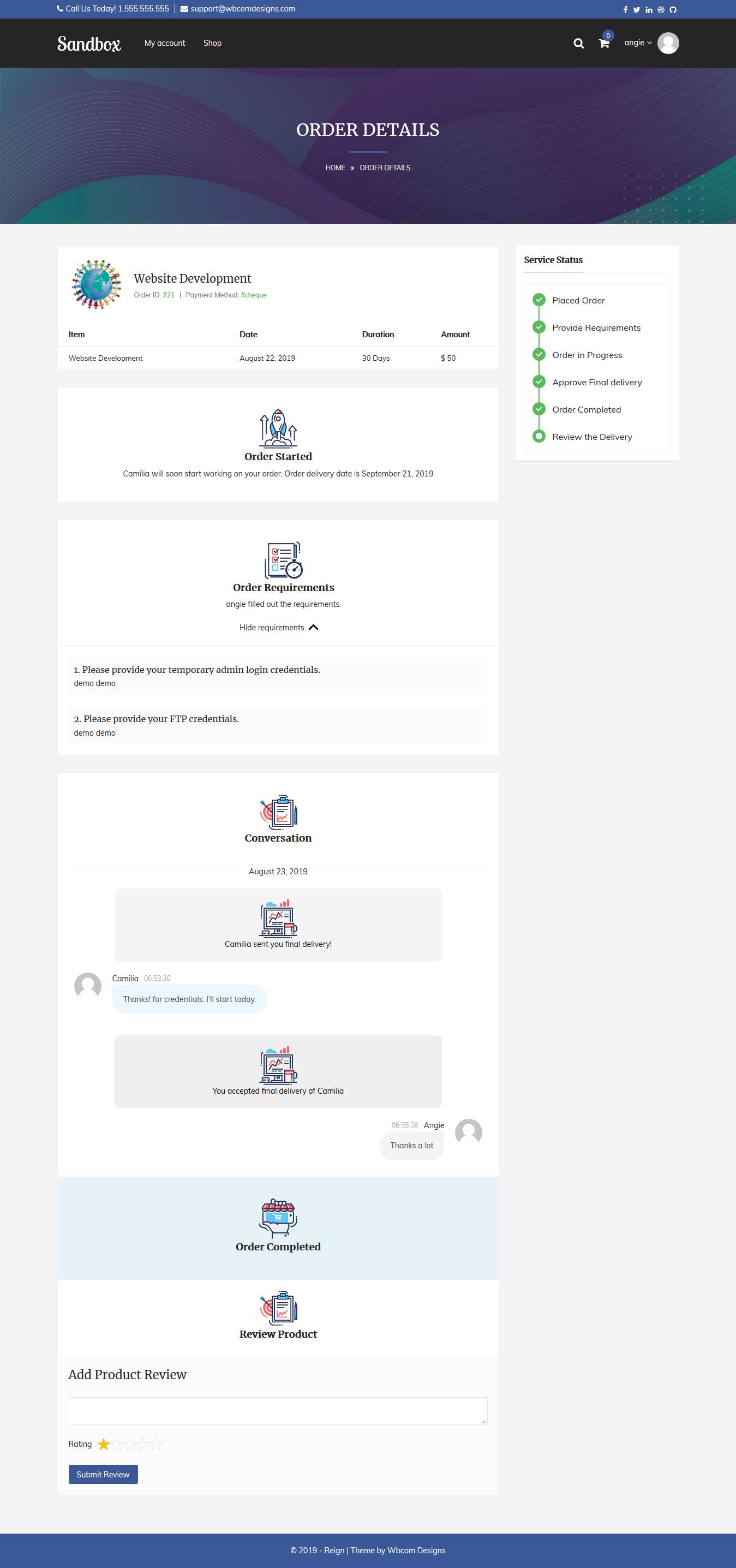 Screenshot 2019 08 23 Order Details –