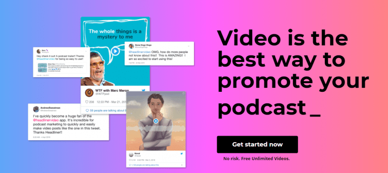 Create Video for Podcost