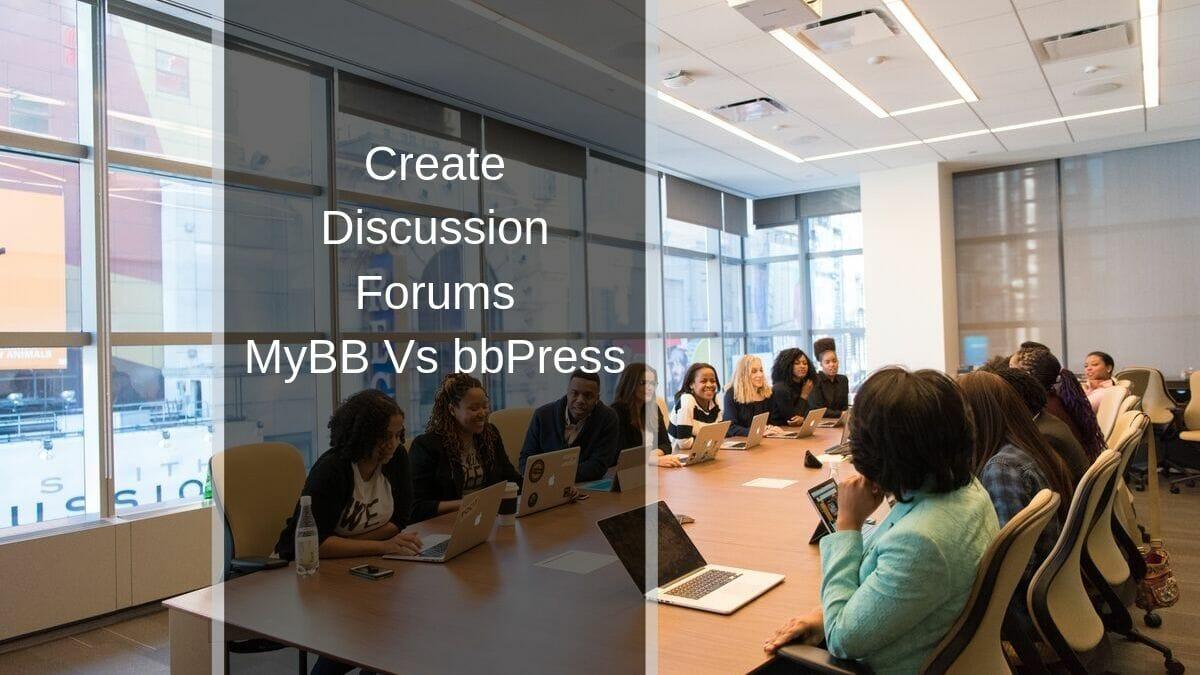 MyBB vs bbPress