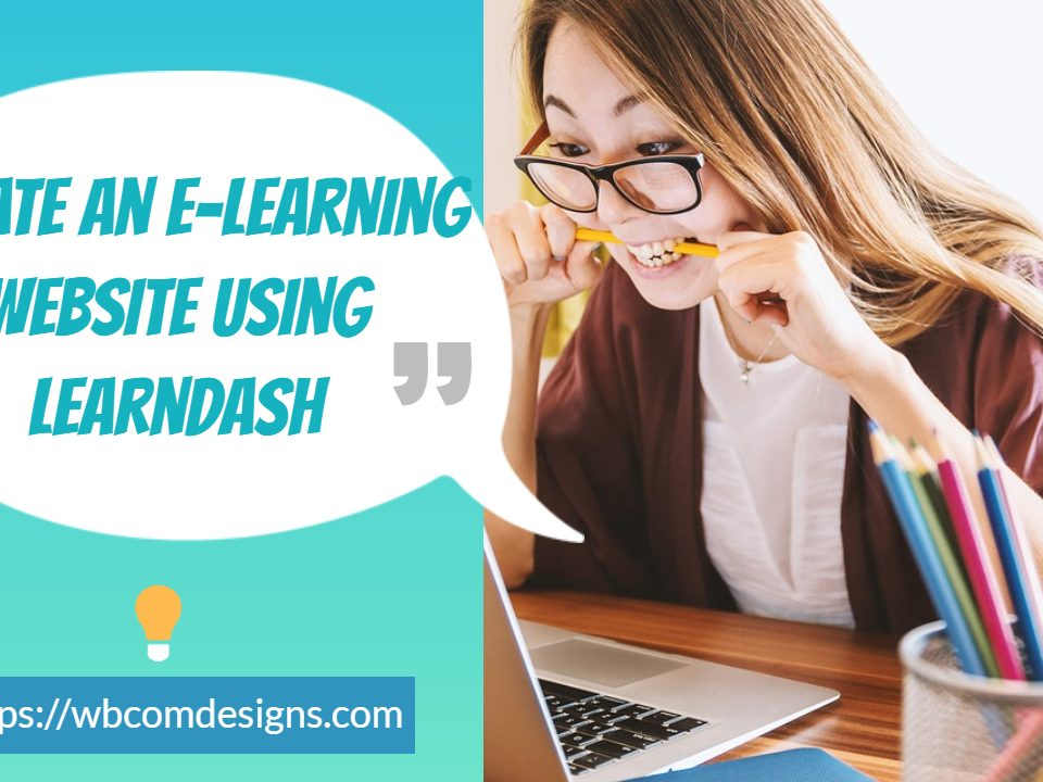 Create An E-Learning Website