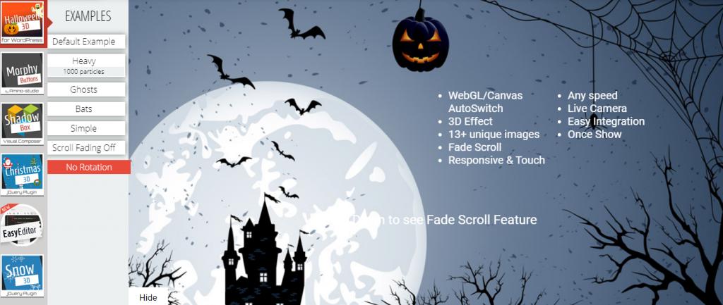 WordPress Halloween Plugins