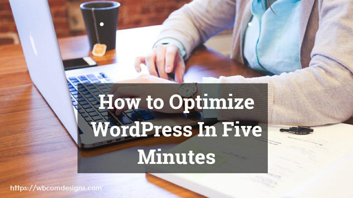 How to Optimize WordPress