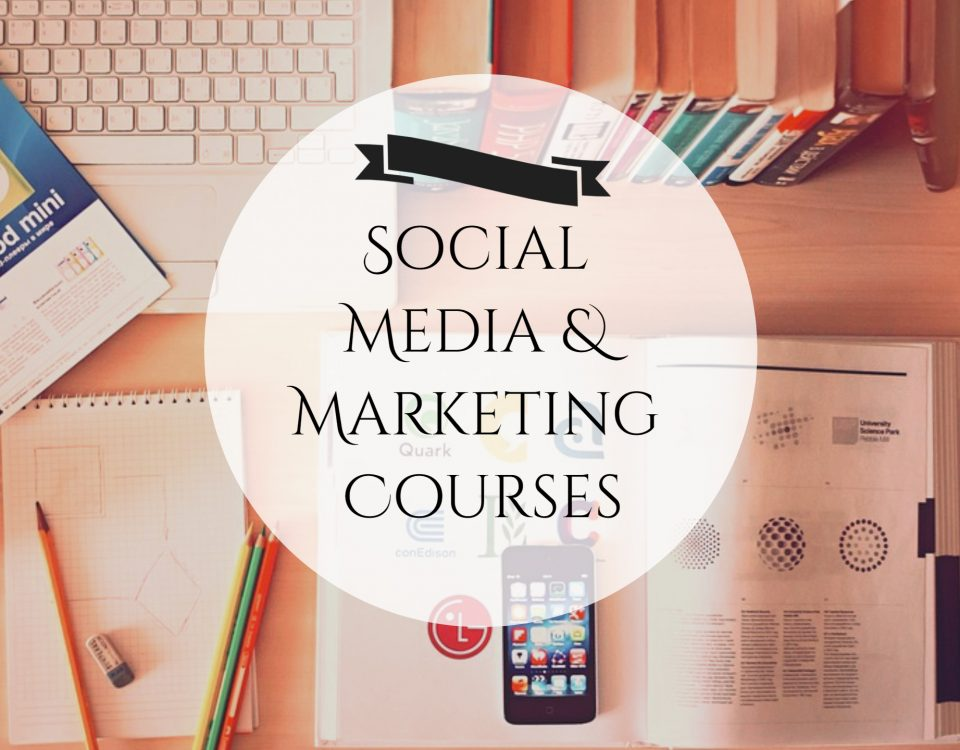 social media and marketing courses