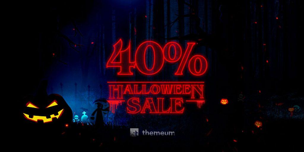 Themeum Halloween sale
