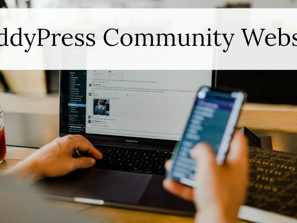 BuddyPress Community Website
