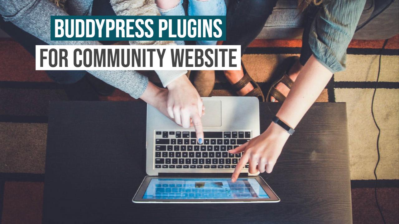 BuddyPress plugins For Community Website