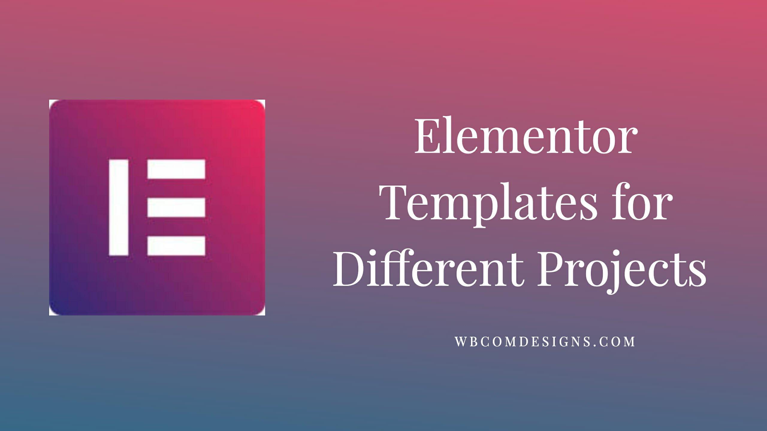 Elementor theme wordpress