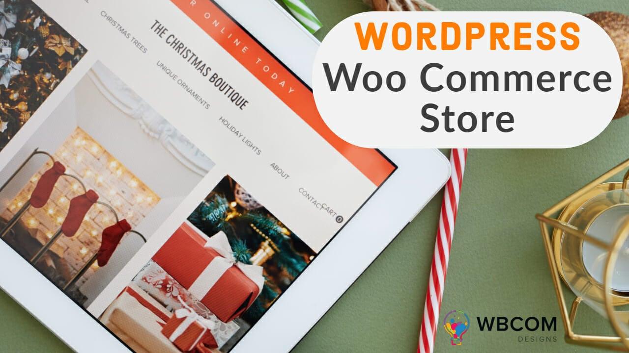 Wordpress Woo Commerce Store