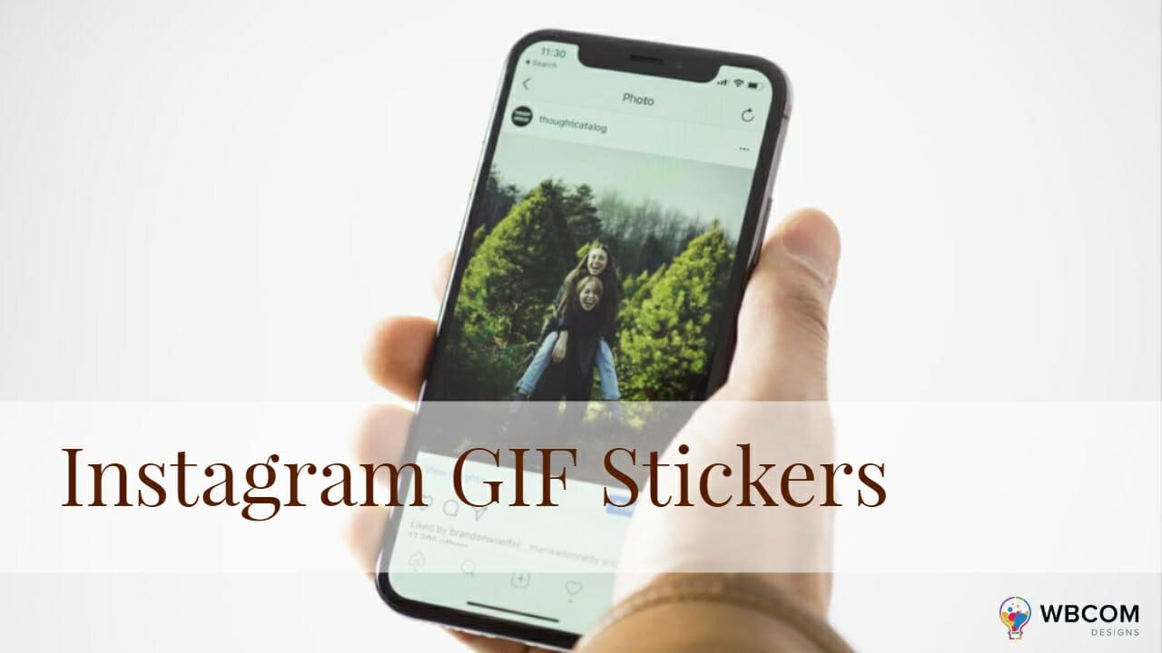 Instagram GIF Stickers