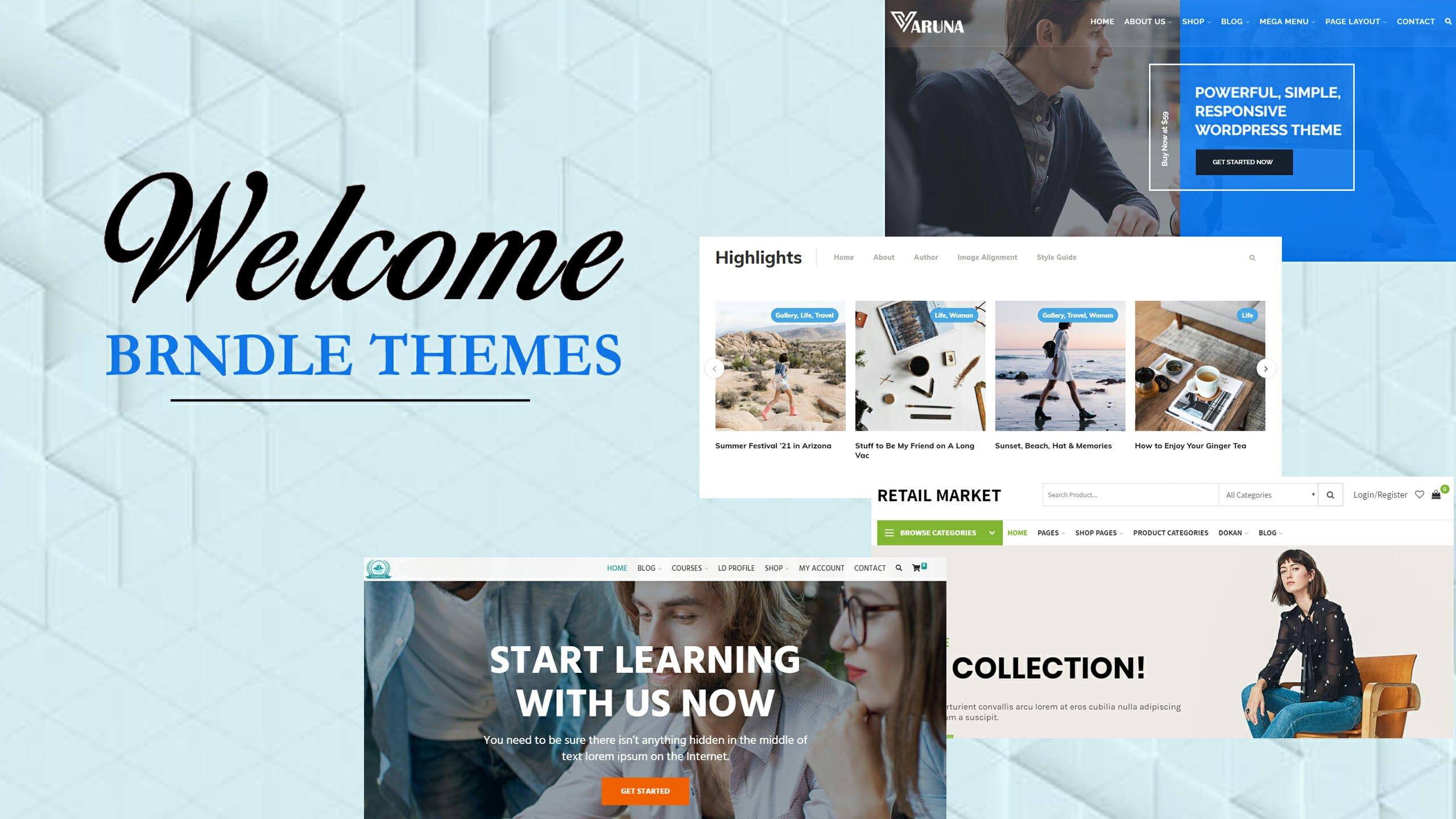 Magazine Themes, News Website