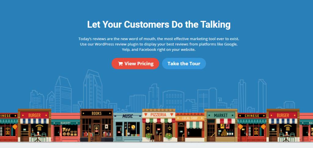 business reviews plugin