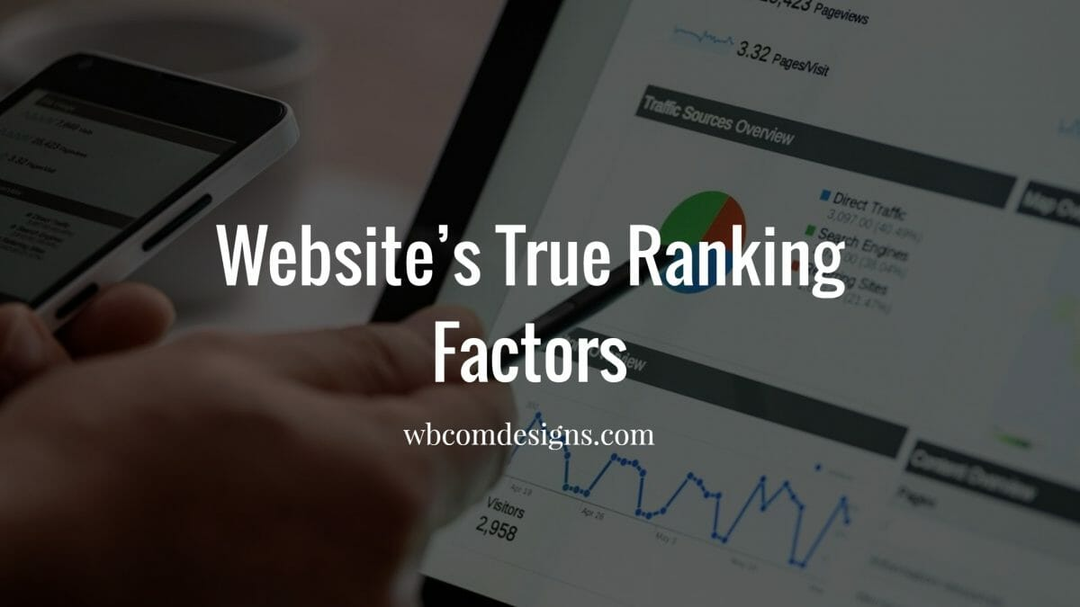 Website's Ranking Factors