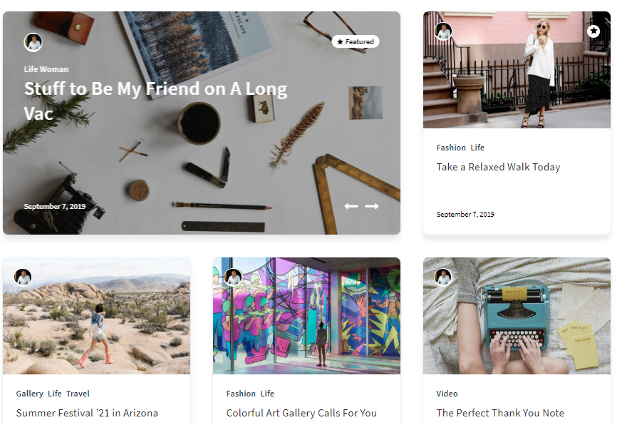 articlemag blogging theme