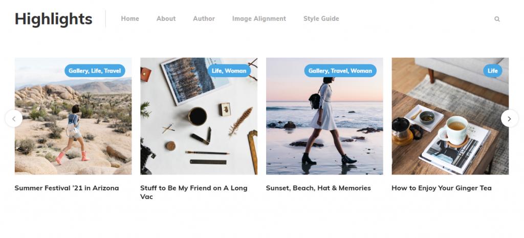 Blogging And Multipurpose WordPress Themes