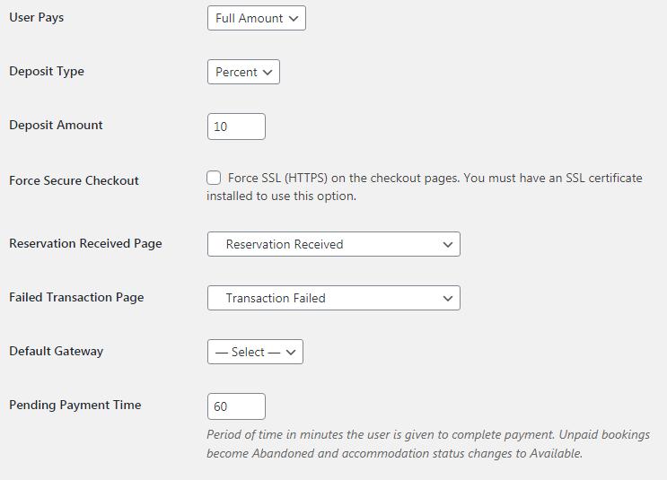 payment details.