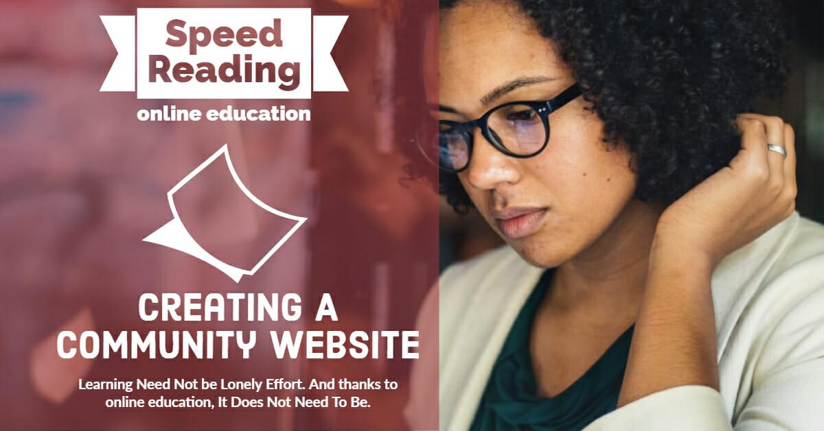 Creating A Community Website