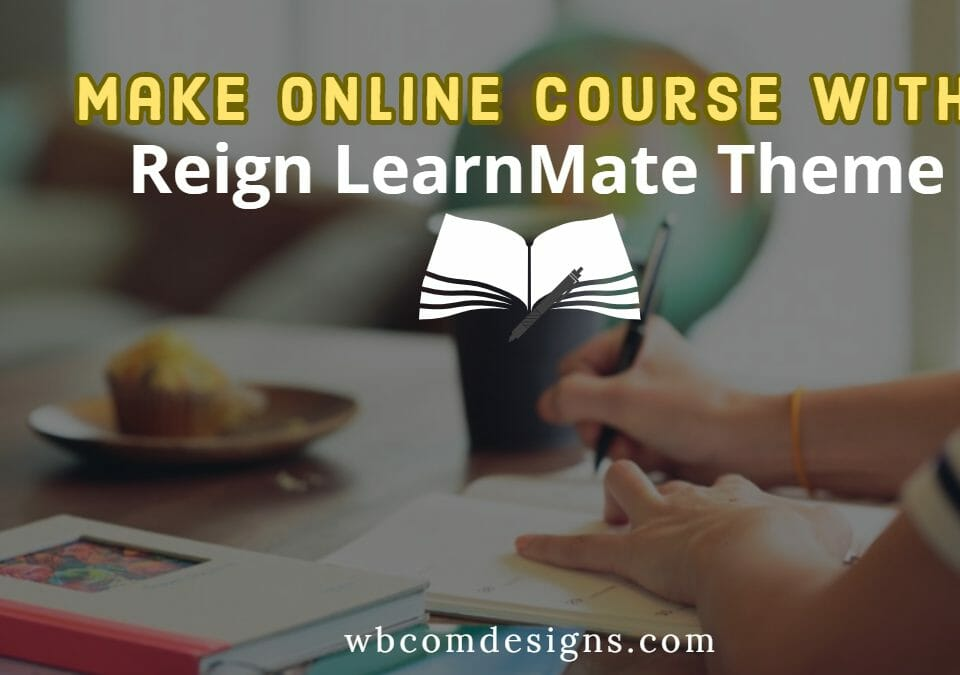 Online Course With Reign LearnMate