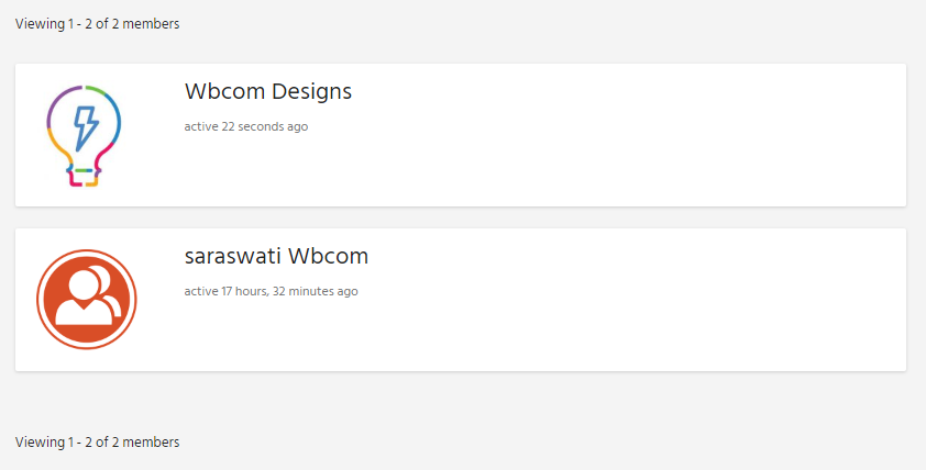 Screenshot 6 - Wbcom Designs