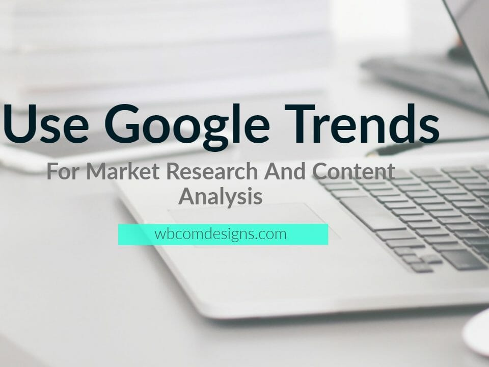 Use Google Trends