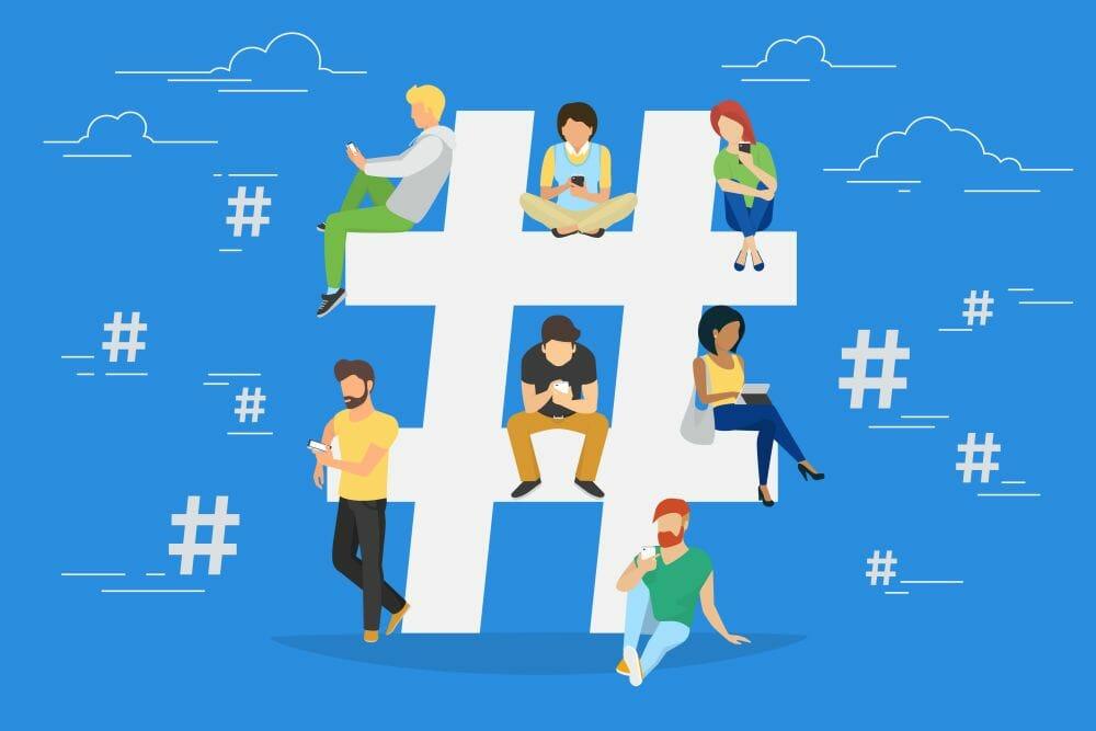 Use Hashtags In Social Media Marketing