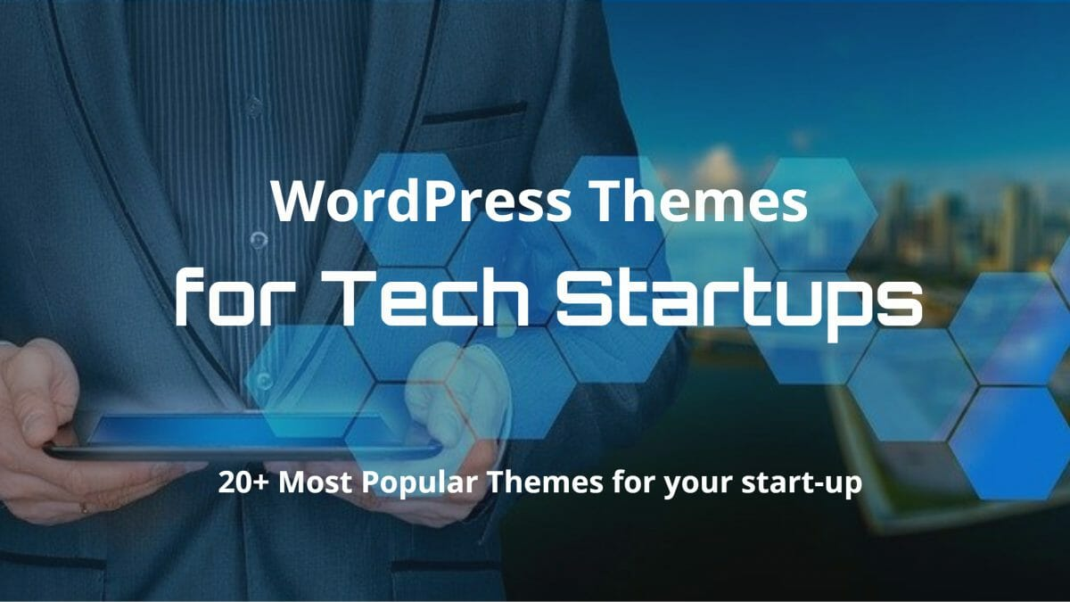 WordPress Themes for Tech Startups