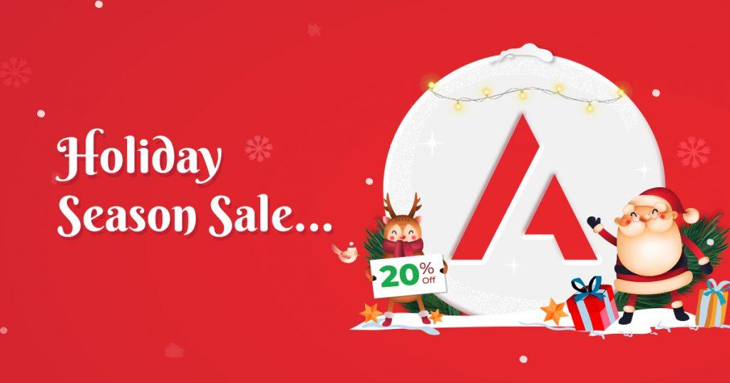 Astra Themes Christmas sale
